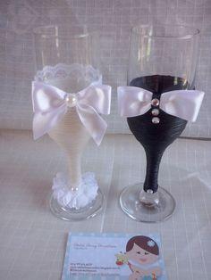 lembrancinhas de casamento em taças - Pesquisa Google