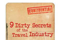 9 dirty little secrets of the travel industry - Yahoo! Travel