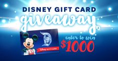 Enter to win a $1000 Disney Gift Card from @MountainAmerica! Enter here:
