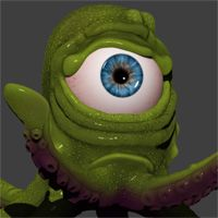Sculpt, Pose and PolyPaint a Cartoon Squid in ZBrush