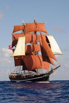 Sailing Ship Adventures: Sailing Vacations and Tall Ship Cruises: Eye of the Wind built Germany in 1911,