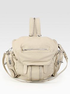 Mothers day maybe??  Alexander Wang Marti Leather Backpack