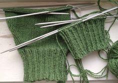 Grundkurs i tvåändsstickning   Bland garner, trasor och trådar