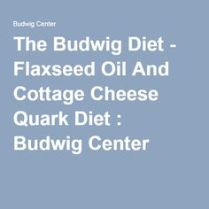 12 exciting budwig diet images linseed oil diet recipes eat rh pinterest com