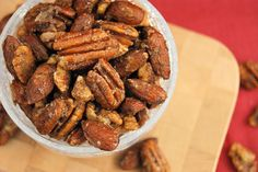 Chai-Spiced Mixed Nuts ~ all the wonderful flavors of chai in a tasty little snacking treat.  www.thekitchenismyplayground.com
