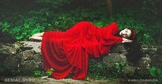 sleeping beauty in red by anka zhuravleva - Fine Photography by Anka Zhuravleva Red Photography, Fantasy Photography, Portrait Photography, Flying Photography, Human Photography, Sleeping Beauty Wedding, Red Wedding Dresses, Princess Aesthetic, Famous Photographers