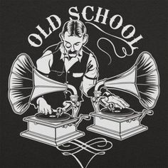 DJ with gramophones for decks — old school for sure. great illustration, wish i could give credit. Vinyl Music, Vinyl Art, Vinyl Records, Arte Hip Hop, Hip Hop Art, House Music, Music Is Life, Chesire Cat, Old School Music