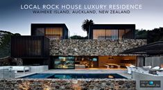Local Rock House Luxury Residence - Waiheke Island, Auckland, New Zealand