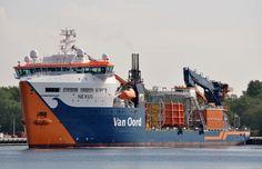 http://koopvaardij.blogspot.nl/2017/05/14-mei-2017-op-het-noordzeekanaal_14.html    NEXUS  Bouwjaar 2014, imonummer 9715505, grt 9675  Manager Van Oord Ship Management B.V., Rotterdam