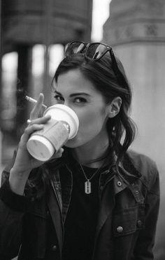 coffee and cigarette: