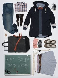 Wildfang - The Graduate-inspired outfit