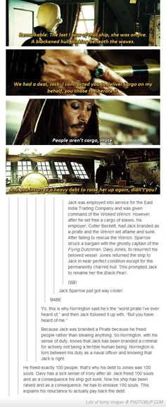 Interesting in depth look at Pirates of the Caribbean...