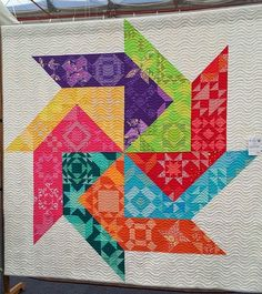 Spinner quilt by Leanne Harvey, photo by Rachel Daisy | Blue Mountain Daisy