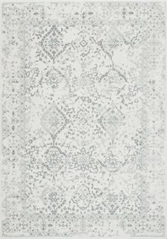 Aren't the details in this ivory rug just stunning?! A true statement-worthy piece! Shop with Rugs USA to find more similar designs and fantastic savings of 70% off!