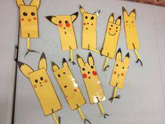 Pokemon Pikachu Bookmarks