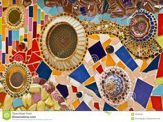 Ornamento Decorativo Della Parete Del Mosaico Dalle Mattonelle Tagliate…