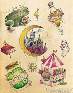 Harry Potter flash sheet