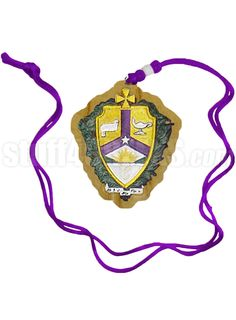 ALPHA KAPPA LAMBDA TIKI NECKLACE WITH CREST  Item Id: PRE-TIKI-AKL-CREST    Price: $29.00