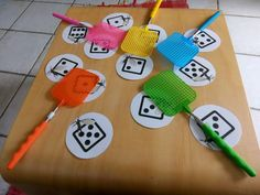 Games and Activities - Aussie Childcare Network Preschool Math, Kindergarten Math, Math Math, Math Games, Preschool Activities, Aussie Childcare Network, Science Student, Numeracy, Subitizing