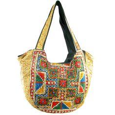 Handmade Vintage-Material Banjara Hobo Shoulder Bag
