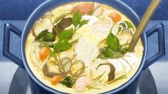"""16 Delectable Anime Food GIFS That Will Make You Hungry - Funny memes that """"GET IT"""" and want you to too. Anime Bento, Real Food Recipes, Yummy Food, Food Porn, Japon Illustration, Food Drawing, How To Make Breakfast, Noragami, Aesthetic Food"""