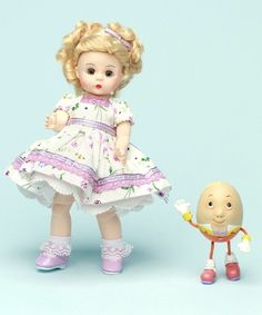 Madame Alexander Wendy Loves Humpty Dumpty Doll 50570