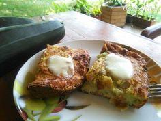 Slaný cuketový koláč - video | Varecha.sk French Toast, Food And Drink, Eggs, Breakfast, Basket, Morning Coffee, Egg, Egg As Food