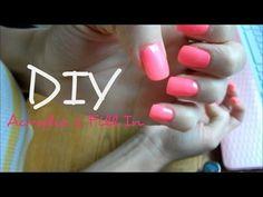 DIY Acrylic Nail Fill In