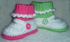 Star Stitch Mary Jane Shoes with Attached Socks pattern by Marcia Peterson