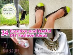 Diy Projects: 34 Creative and Useful DIY Fashion Ideas