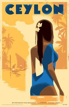 Vintage Retro Poster Design Art Deco 63 Ideas For 2019 Tourism Poster, Poster Ads, Art Deco Posters, Vintage Travel Posters, Photo Vintage, Retro Vintage, Vintage Hawaii, Retro Art, Vintage Style