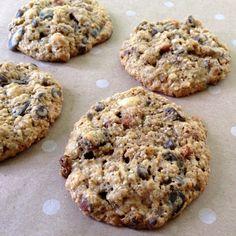 Un biscuit nutritif que les enfants adorent fait avec l'un des mélanges randonnée Prana....