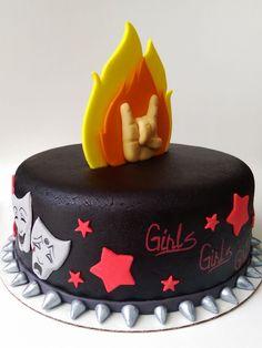 motley crue inspired cake