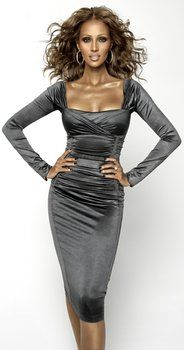 African model Iman of Somalia, Africa her style, her culture was her attitude, Ms. Diva