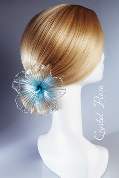 hair accessory by Crystal Flora, wedding hair ornaments