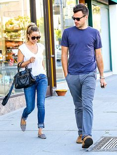 Lauren Conrad and her fiance William Tell grab some Mexican food for lunch in Beverly Hills on Feb. 12