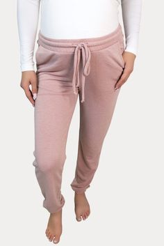 Light Mauve Maternity Joggers- Sexy Mama Maternity Our mauve maternity joggers are ideal for lounging around and for daily wear. Our stretch pants will make you never worry about your mama tummy. Ideal throughout pregnancy and for postpartum! Grab a pair of these comfy maternity joggers! Maternity Workout Clothes, Maternity Activewear, Pregnancy Workout, Joggers, Sweatpants, Stretch Pants, Daily Wear, Mauve, Active Wear