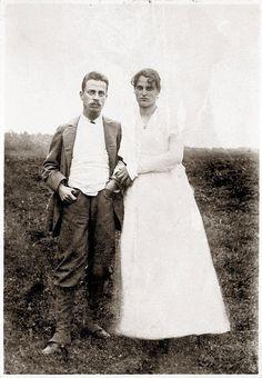 RT inthemoodfortw: Rainer Maria Rilke and Clara Rilke-Westhoff, 1901