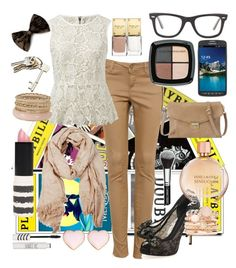 """""""Broadway Trip"""" by claquesous ❤ liked on Polyvore"""