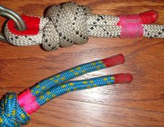 Plasti Dip rope ends to prevent fraying by SINGLE-JACK, via Flickr