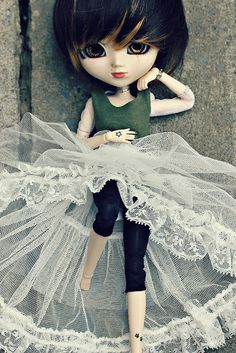 pullip custom - cute doll look