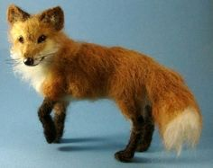 felted fox.
