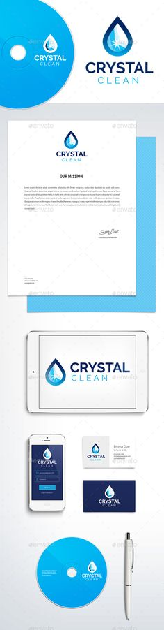 Cleaning and Cleaner - Logo Design Template Vector #logotype Download it here: http://graphicriver.net/item/cleaning-and-cleaner-logo-template/10942838?s_rank=1067?ref=nesto