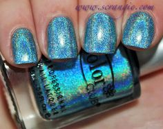 Over The Moon // Scrangie: Color Club Halo Hues Holographic Nail Polish Collection Spring 2013 Swatches and Review
