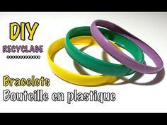 BRICO ÉCOLO : Découvrez comment fabriquer des bracelets MODE avec des bouteilles en plastique et du vernis à ongles - Trucs et Bricolages