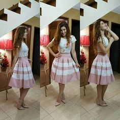 Skirts For Women – My WordPress Website Girly Outfits, Skirt Outfits, Summer Outfits, Casual Outfits, Cute Outfits, Summer Dresses, Frilly Skirt, Chiffon Skirt, Pleated Skirts