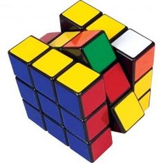Invented by Hungarian Erno Rubik in 1974, Rubik's Cube is the incredibly addictive, multi-dimensional challenge that has fascinated puzzle fans around the world since 1980, when it became the world's best-selling toy. The current world record for a single solve is held by Erik Akkersdijk of the Netherlands, who set a best time of 7.08 seconds...There are more than 43 quintillion possible configurations, but there is only one solution!