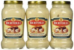 Bertolli Mushroom Alfredo Sauce, 15 Oz., (Pack of 3) *** Additional details at the pin image, click it  : Fresh Groceries