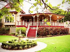 354 Ann Street, Maryborough.  A beautiful example of Australian architecture.