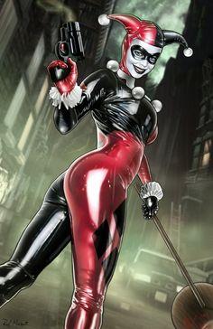 Harley Quinn porno komiksy Tehla Gay porno